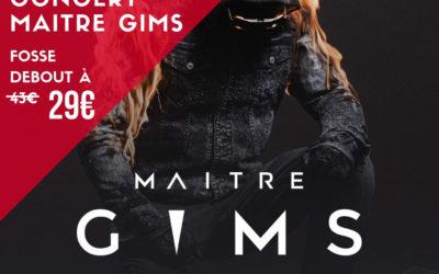 Offre promo – Concert Maitre Gims