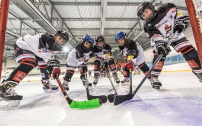 Initiation gratuite au hockey sur glace en septembre !