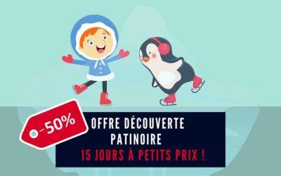 «Offre découverte» : patinoire à -50%» en septembre